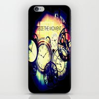 Seize the Moment iPhone & iPod Skin