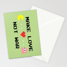 Make Love Not War Stationery Cards