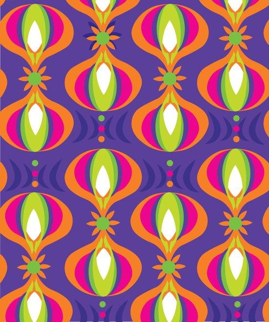 Oohladrop Purple Art Print