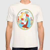 Venice For Lovers Mens Fitted Tee Natural SMALL