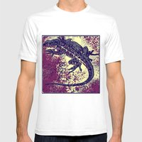 Liz 2 Mens Fitted Tee White SMALL