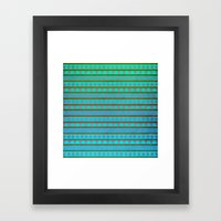 Aztec Summer Framed Art Print