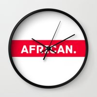 AFRICAN Wall Clock