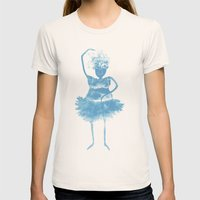 Ballerina Womens Fitted Tee Natural SMALL