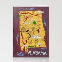 Alabama Stationery Cards