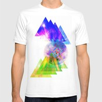 Above & Beyond Mens Fitted Tee White SMALL