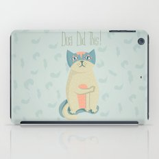 Blame the dog iPad Case