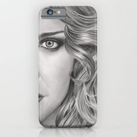 Half Portrait iPhone 6 Slim Case
