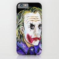 Gotham is Mine - Heath Ledger as The Joker iPhone 6 Slim Case