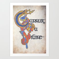 Carraig na Siuire Art Print