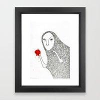 Creature 1 Framed Art Print