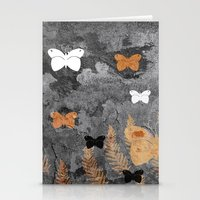 Grungy nature Stationery Cards