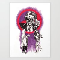 Ghost Dancing Art Print