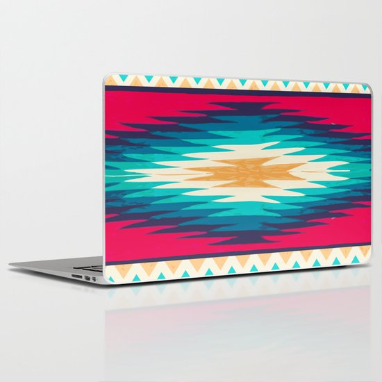 SURF GIRL CHEVRON Laptop & iPad Skin