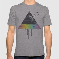 Breathe Mens Fitted Tee Athletic Grey SMALL