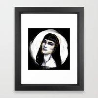 Skull Series #1 Framed Art Print