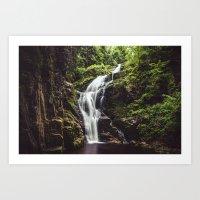 Wild Water Art Print