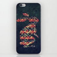 The Pattern Rabbit iPhone & iPod Skin