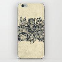Nine Owls iPhone & iPod Skin