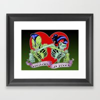 What's Mine Is Yours Framed Art Print