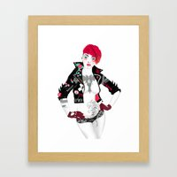 Thriller Framed Art Print