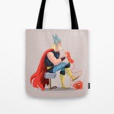 Skills (Thor) Tote Bag