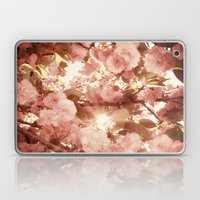 Cherry Blossom Sky Laptop & iPad Skin