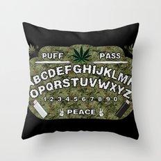 Weedji Board Throw Pillow