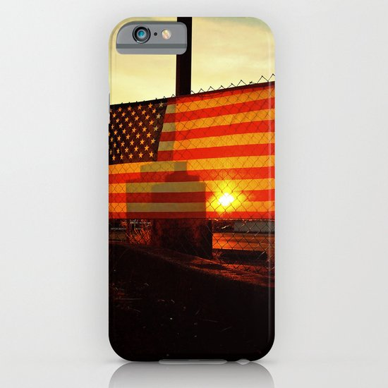 America's sunset iPhone & iPod Case