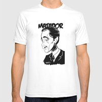 Adrien Brody Mens Fitted Tee White SMALL