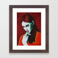 Close Up 12 Framed Art Print