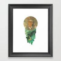 Honeycomb View Framed Art Print