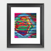 Lecherous Framed Art Print