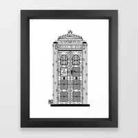 Time & Relative Dimensions In Victorian Times Framed Art Print