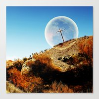 God will bring an end to this Canvas Print