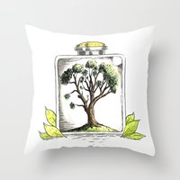 Nature On Display Throw Pillow