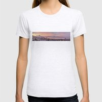 Napoli, Landscape With V… Womens Fitted Tee Ash Grey SMALL