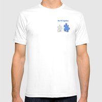 We Fit Together Mens Fitted Tee White SMALL
