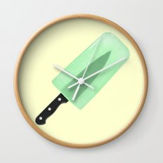 KNIFE POPSICLE Wall Clock
