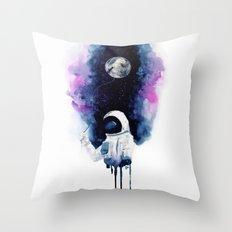 My moon Throw Pillow