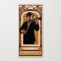 Art Nouveau: The Violinist Canvas Print