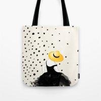 Polka Rain II Tote Bag