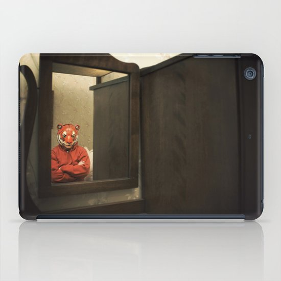 He Waits Silently  iPad Case