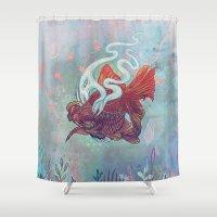 Ocean Jewel Shower Curtain