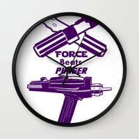 Force beats Phaser Wall Clock