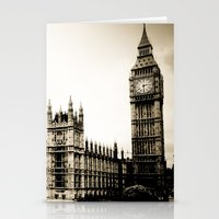 Big Ben And The Houses O… Stationery Cards