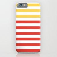 POPPY STRIPES iPhone 6 Slim Case