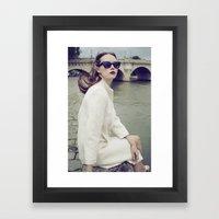 Paris Vintage 2 Framed Art Print