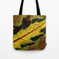 Leaf Veins III Tote Bag