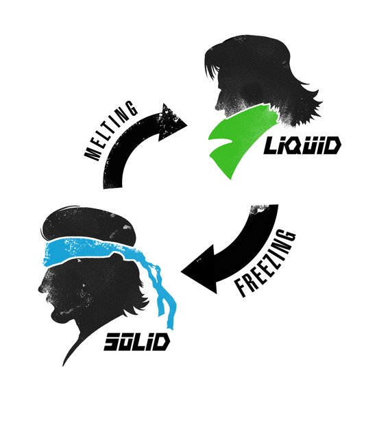 Metal Gear: Solid Liquid States Art Print
